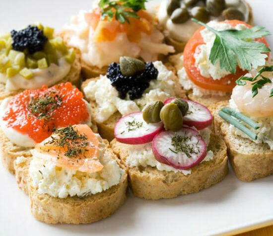 Beispiel: Fingerfood, Foto: CCB Catering Company Brok.