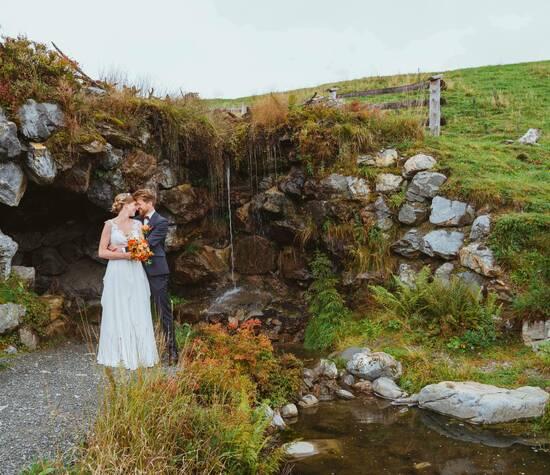 Hochzeit in den Salzburger Bergen