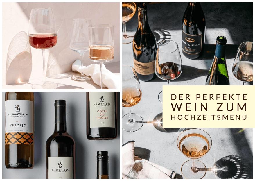 Der perfekte Wein zum Hochzeitsmenü: Experte von essen &amp im Interview
