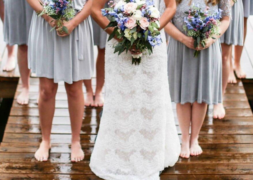 Gute Laune bei Regen auf der Hochzeit mit der LAMIE direkt Hochzeitsversicherung