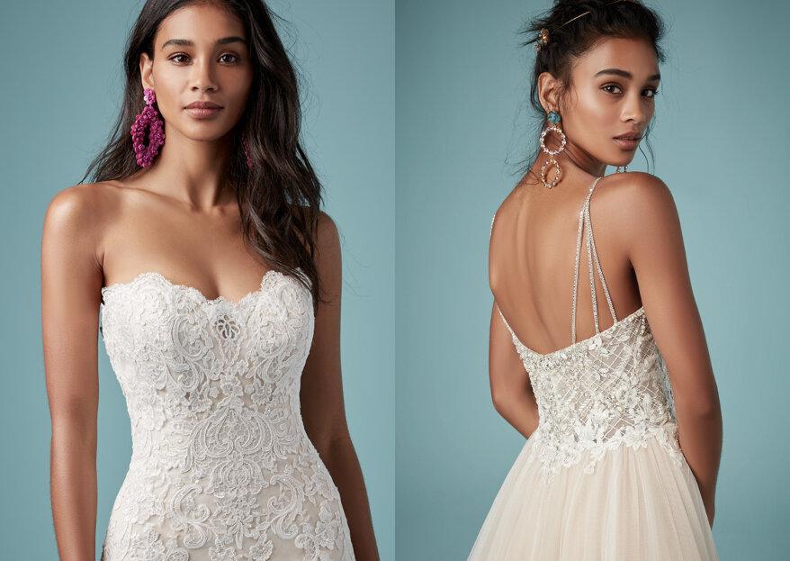 Maggie Sotteros Herbst Kollektion 2019: Für jede Figur das passende Brautkleid!