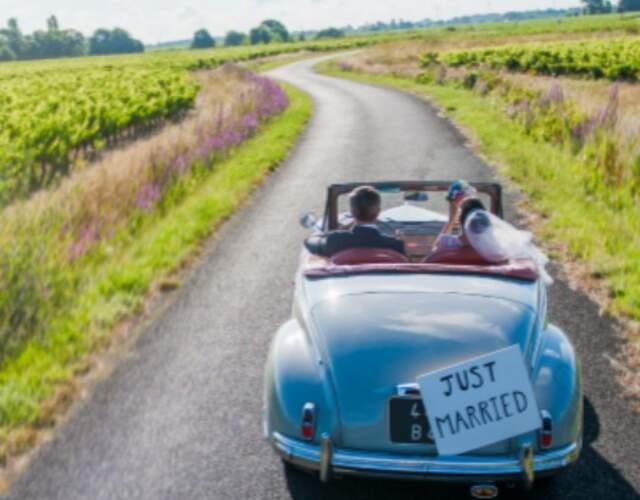 Transport für die Hochzeit in Tirol